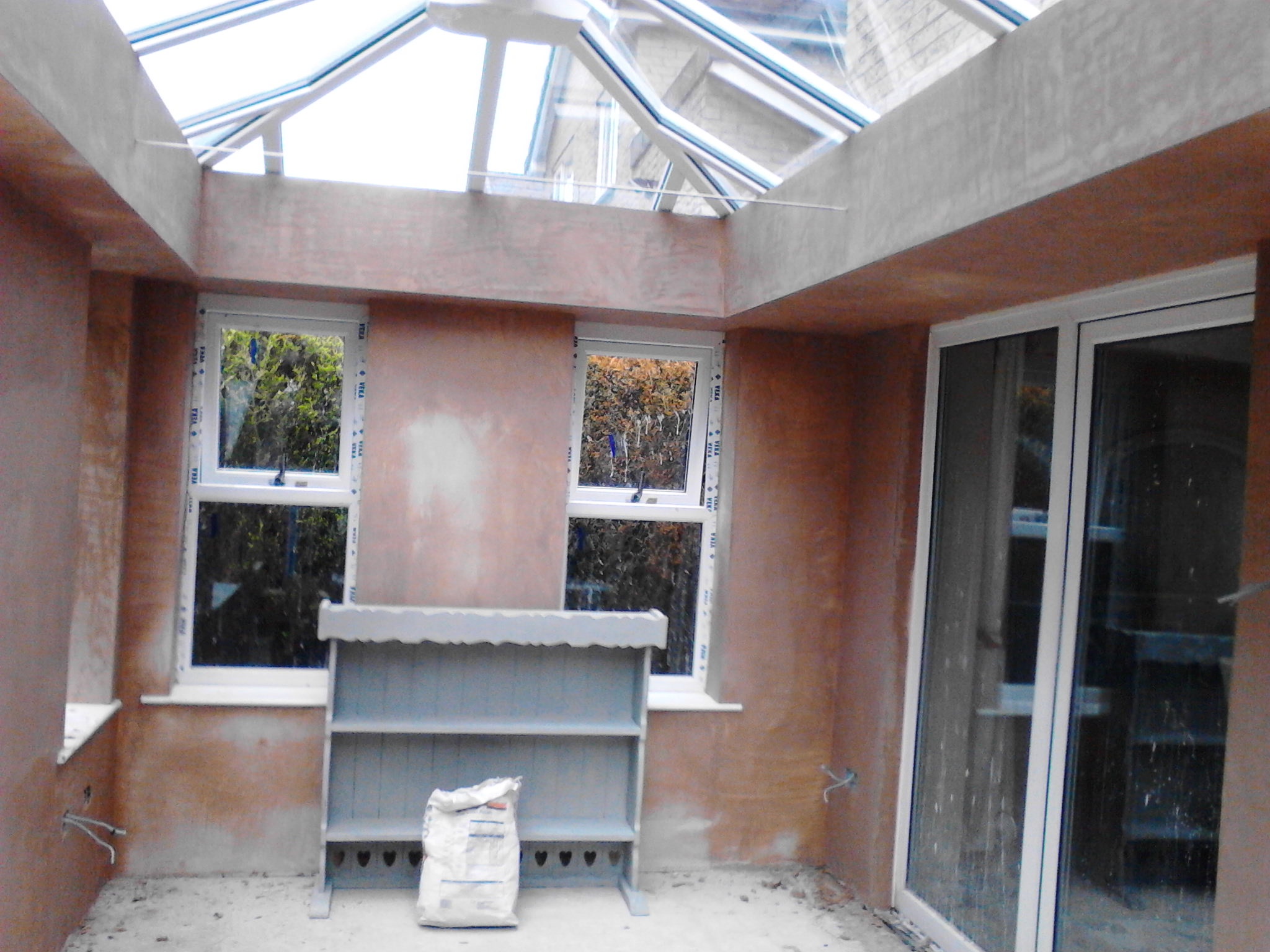 Plastering – Conservatory banner 1