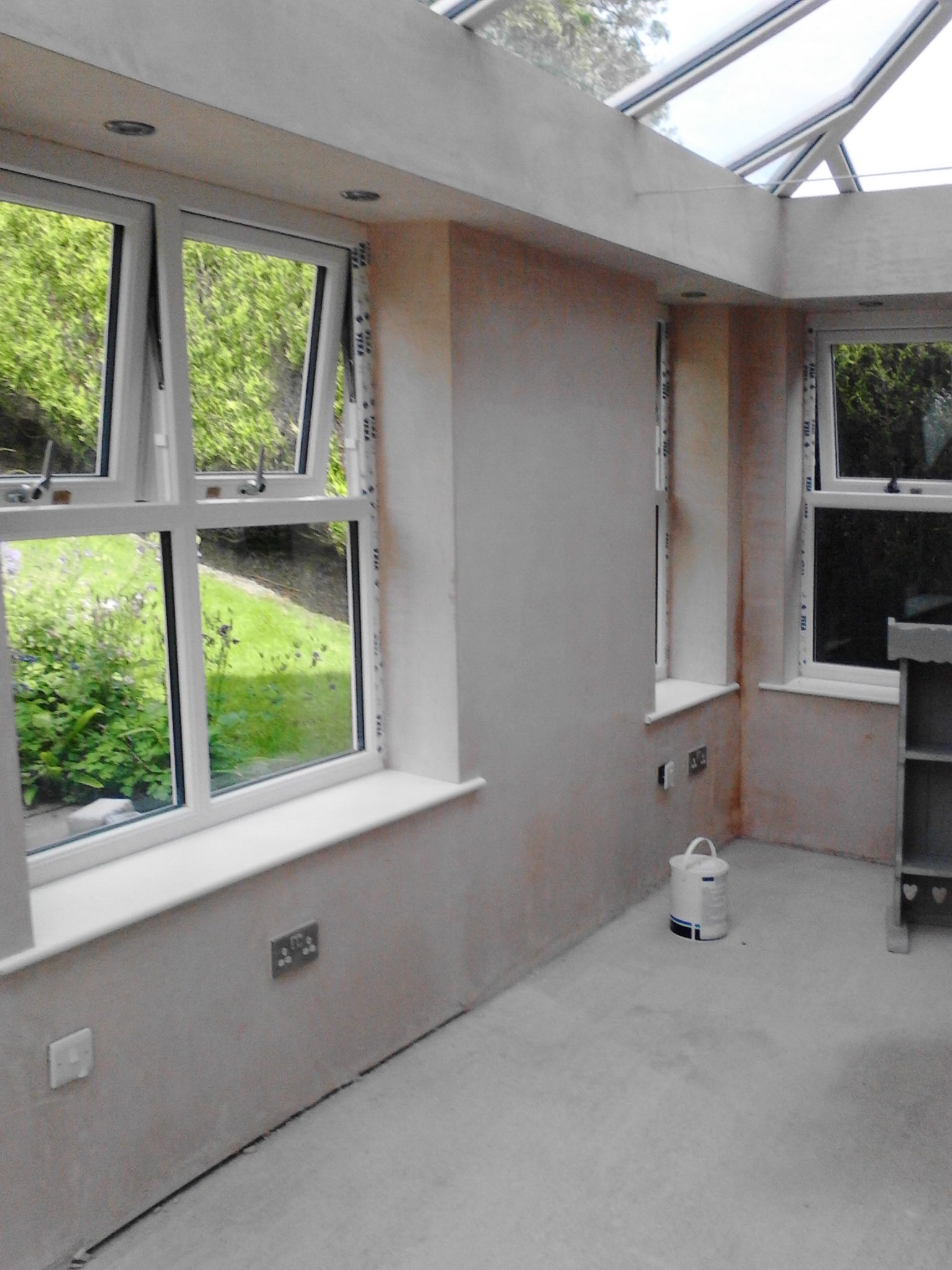 Plastering – Conservatory banner 10