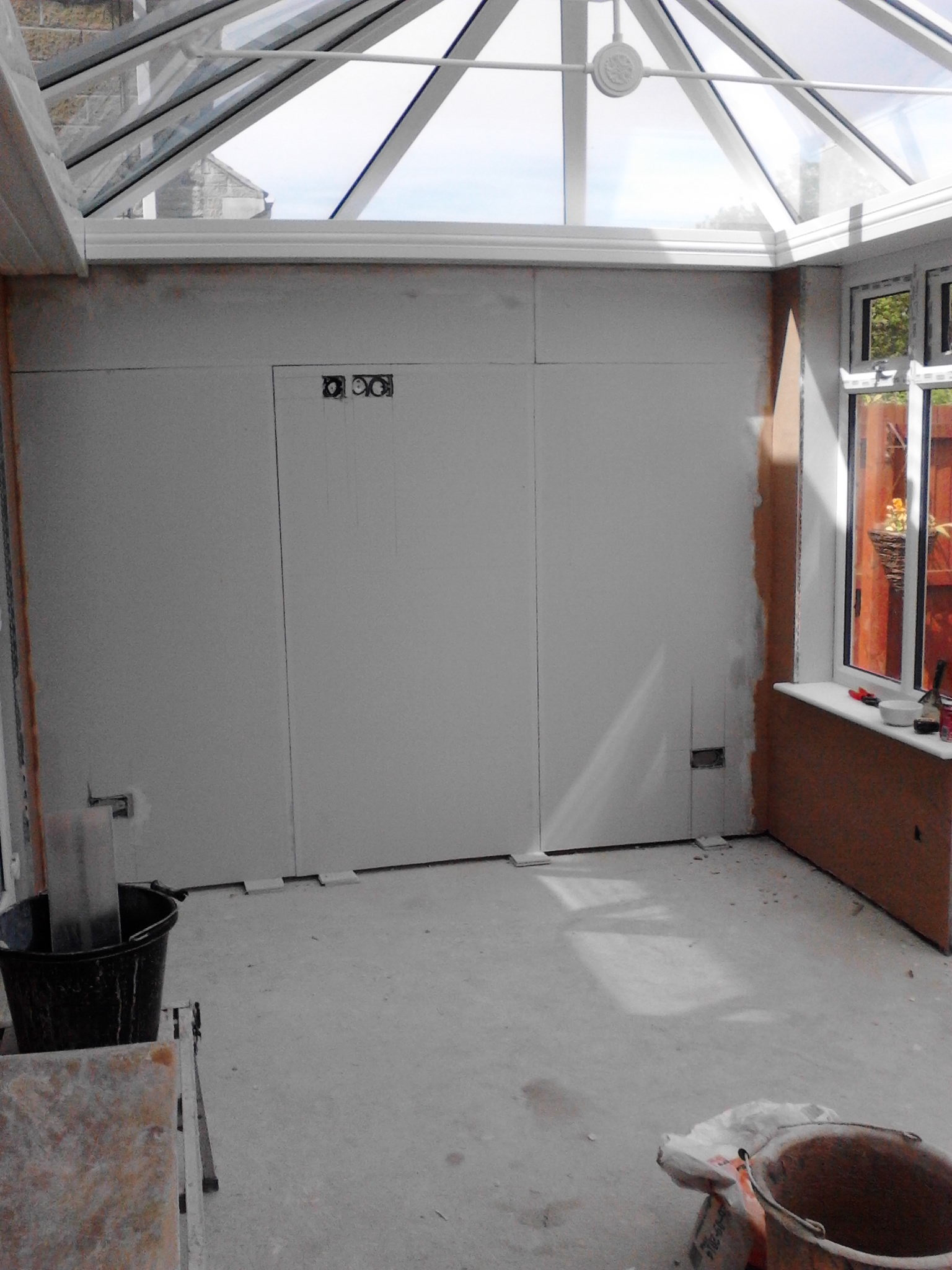 Plastering – Conservatory banner 2