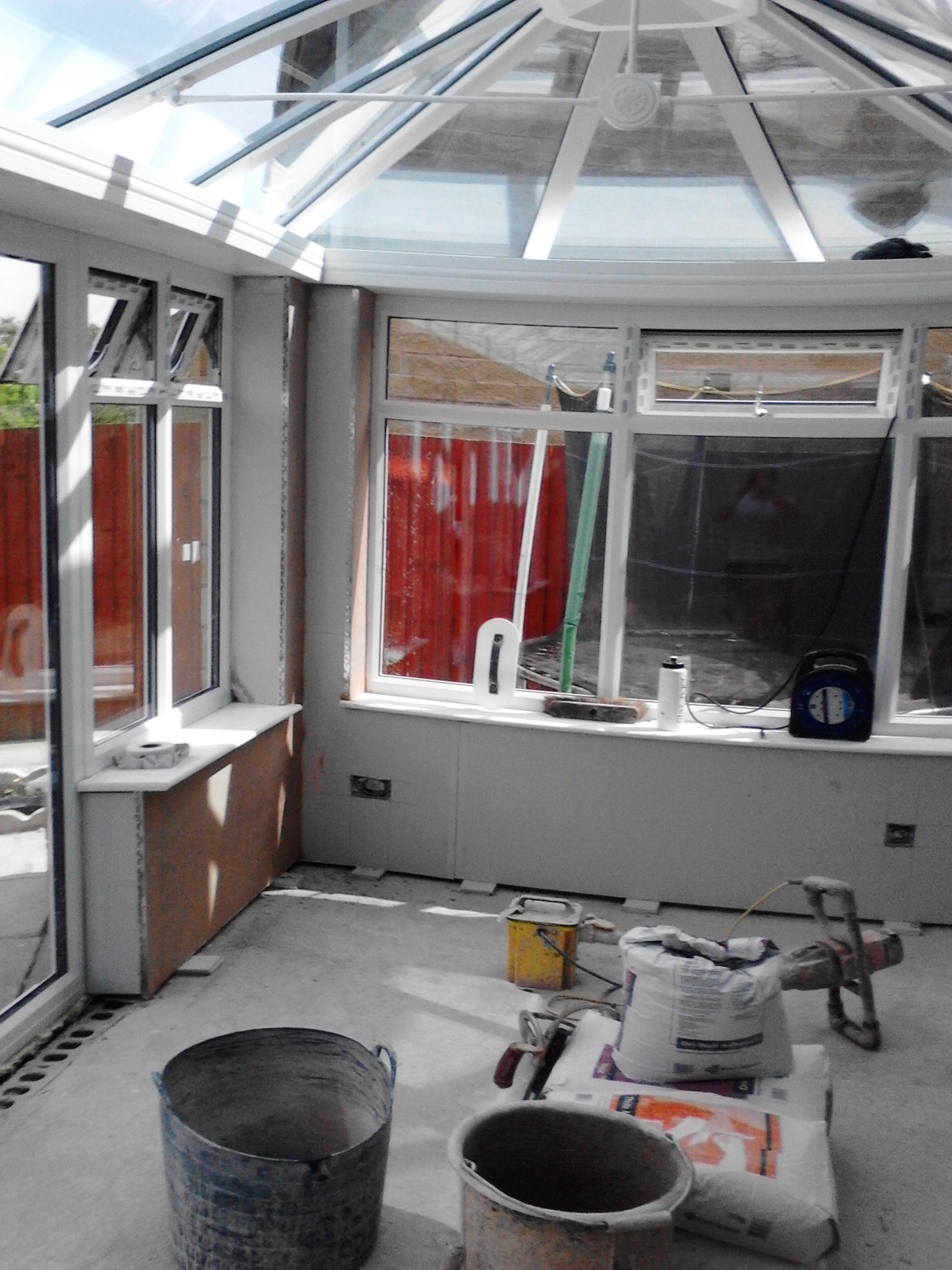 Plastering – Conservatory banner 3
