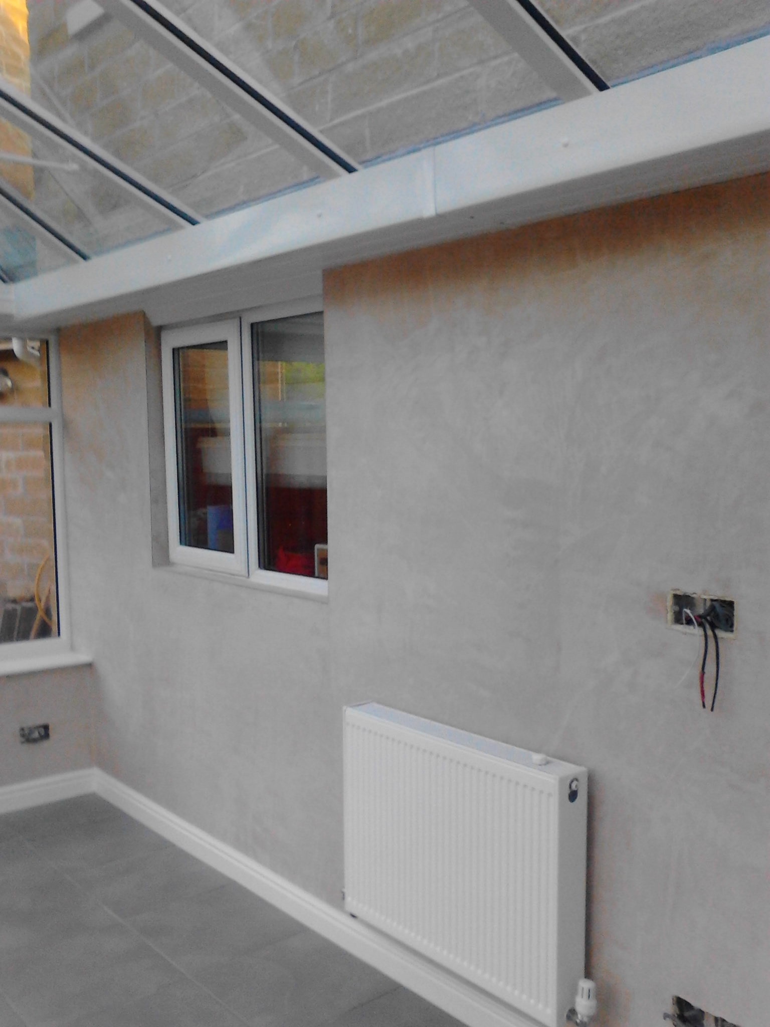 Plastering – Conservatory banner 6