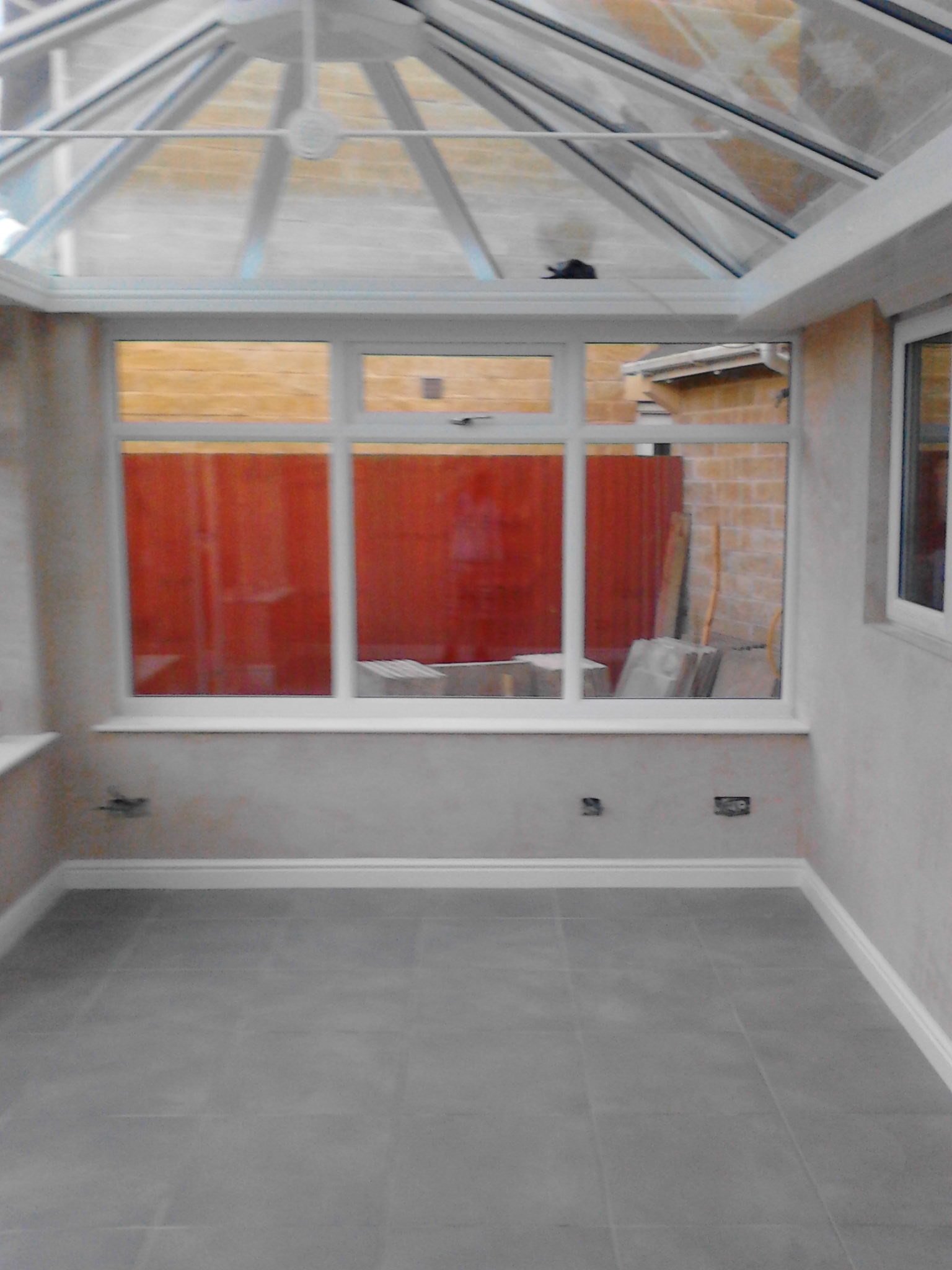 Plastering – Conservatory banner 9