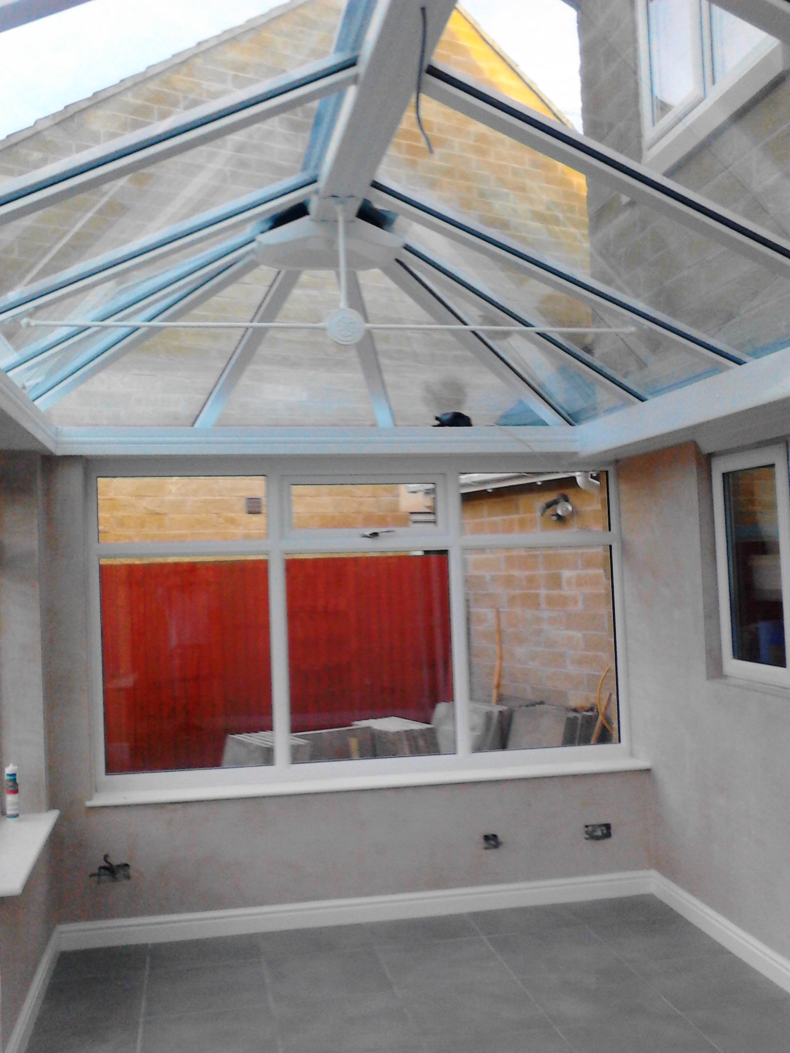 Plastering – Conservatory banner 13