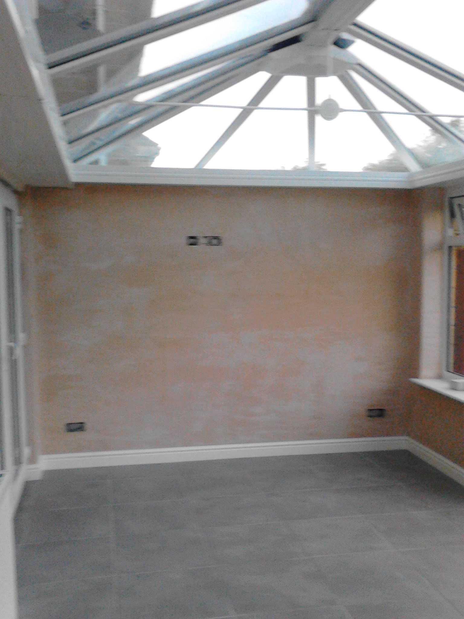 Plastering – Conservatory banner 14