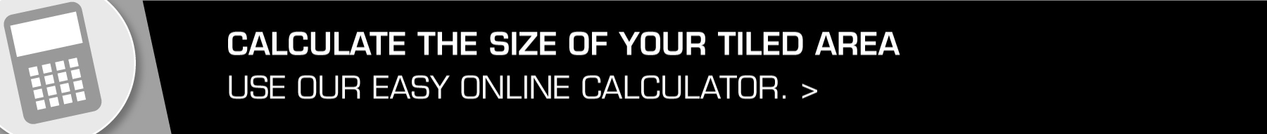 Calculate the size of your tiled area
