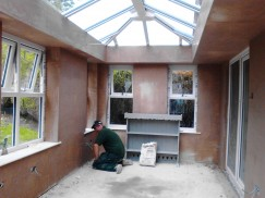 Plastering – Conservatory