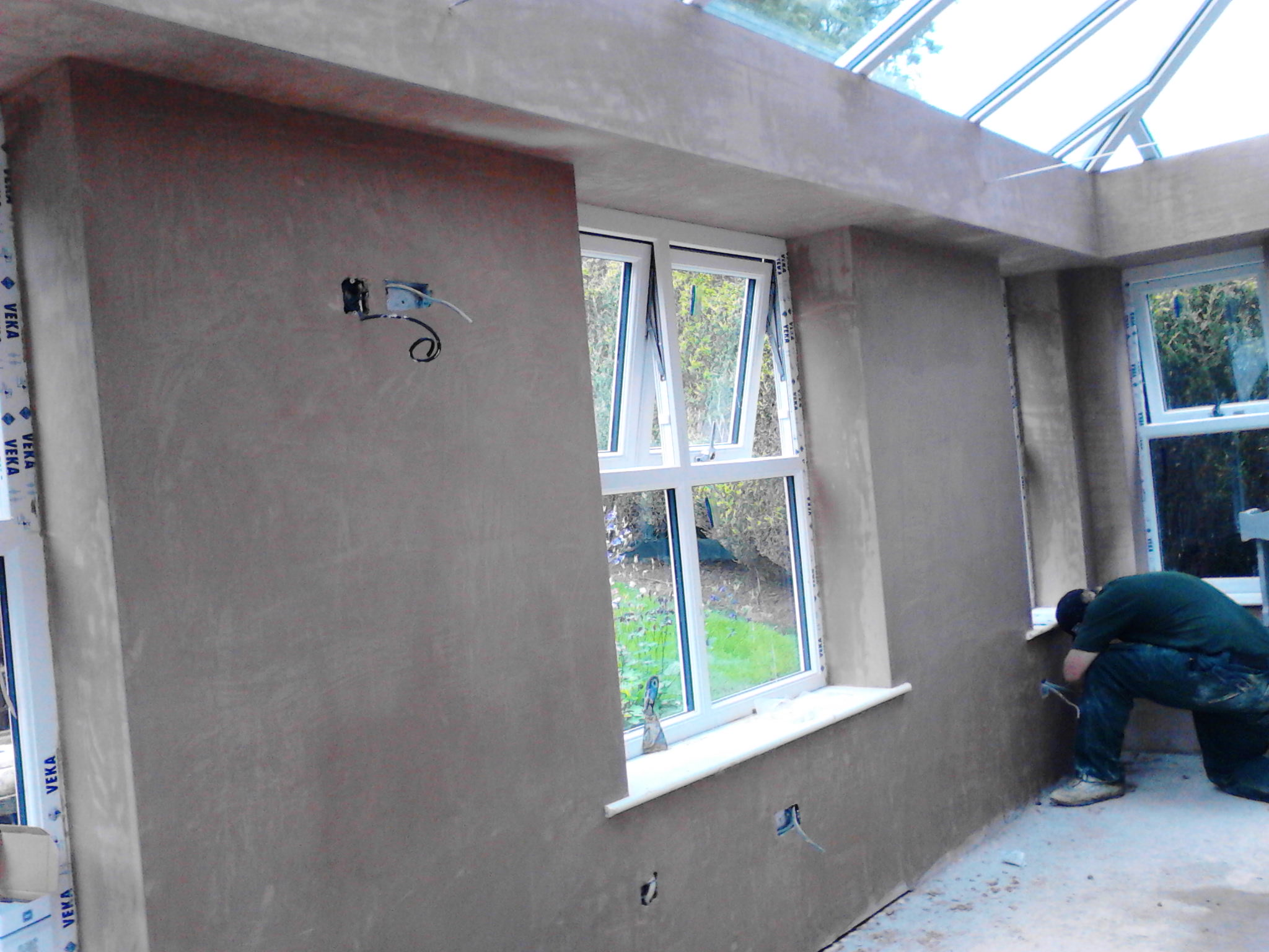 Plastering – Conservatory banner 5