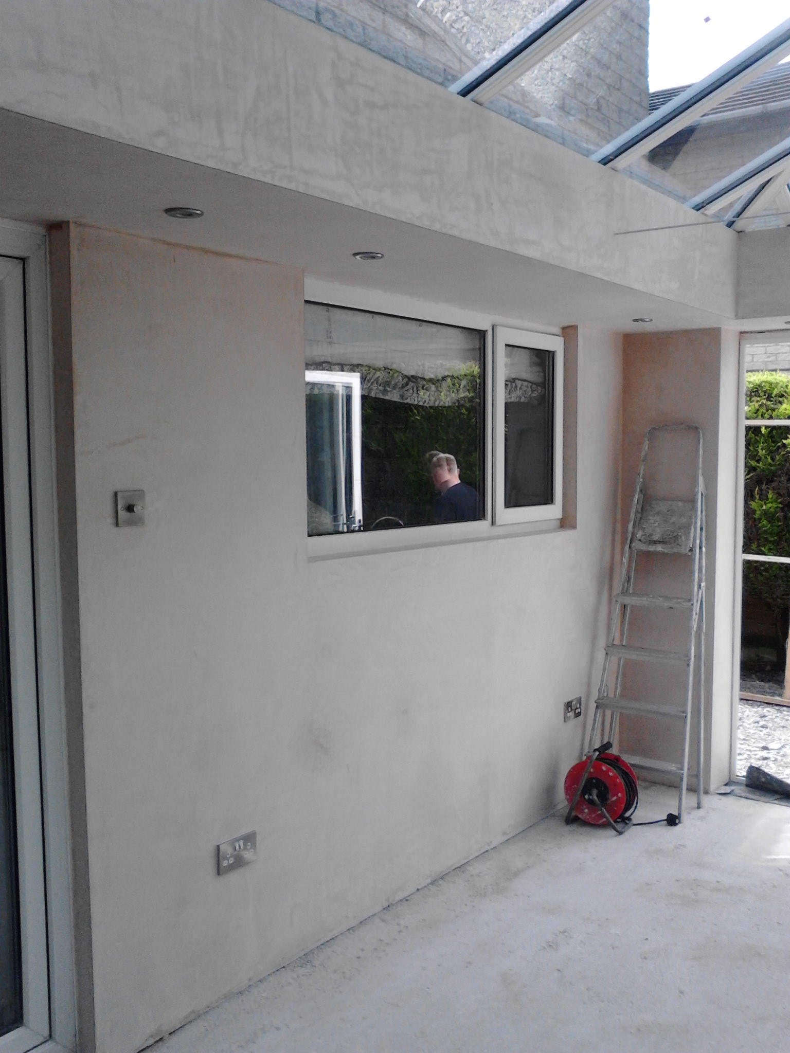 Plastering – Conservatory banner 12