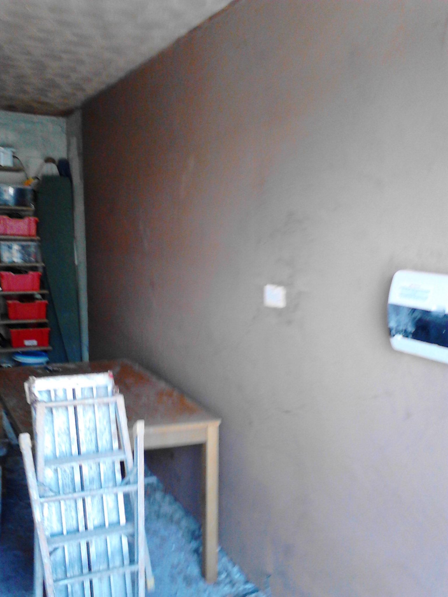 Plastering – Converted garage banner 5