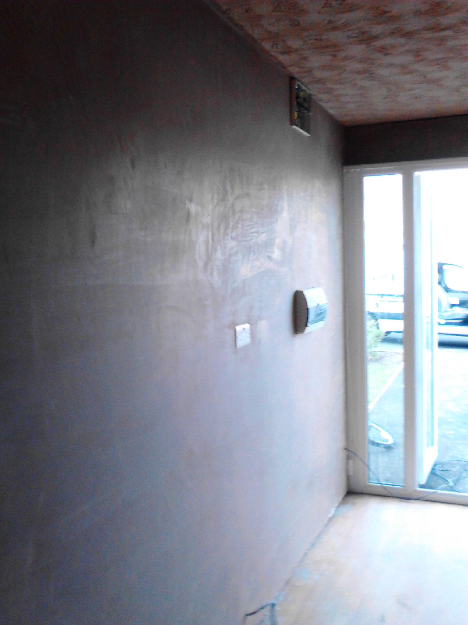 Plastering – Converted garage banner 2