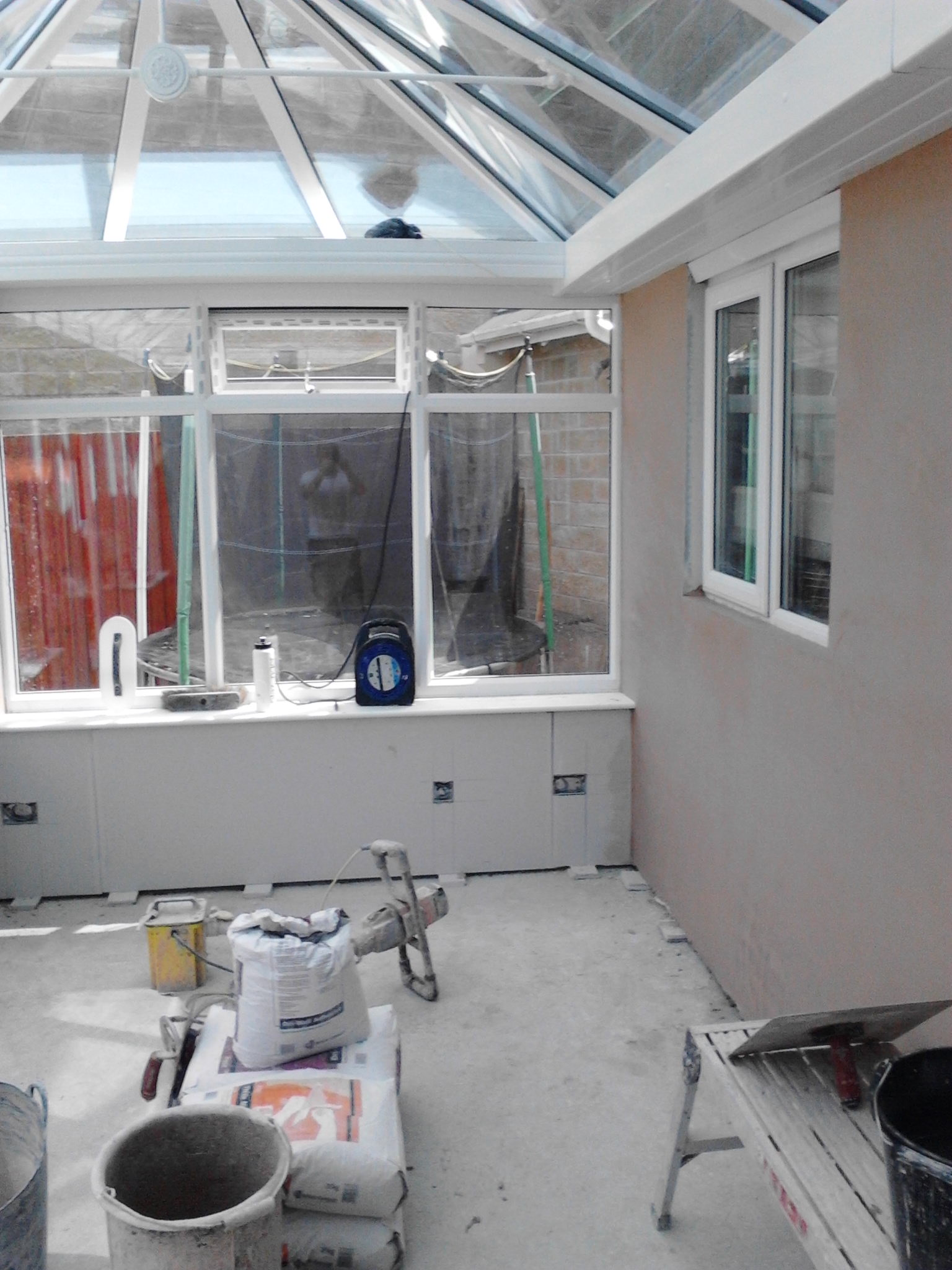 Plastering – Conservatory banner 4