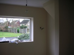Plastering – Painted finish